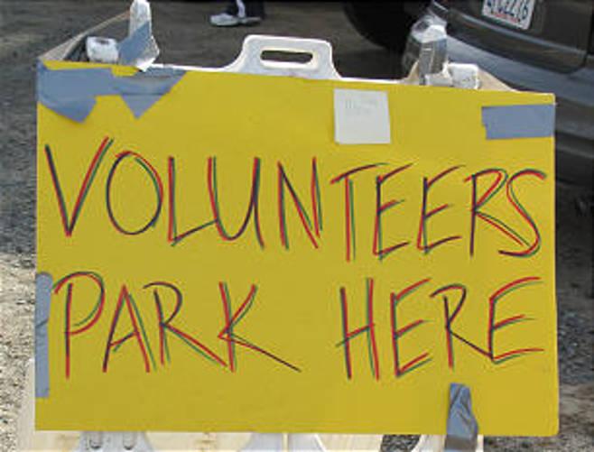 Volunteers Park Here